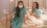 จอยรินลณี-ริต้าแอดมิดรพ.ป่วยไข้หวัดใหญ่ดีขึ้น