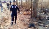 โหด!ฆ่ารปภ.ขอนแก่นนำร่างทิ้งป่าจุดไฟเผา
