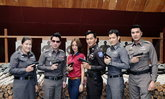 วีเจจ๋าณัฐฐาวีรนุชสวย-โสด-ดุนำทีมโชว์ยิงปืน