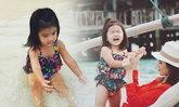 น้องมะลิ น่ารักใจละลาย ถ่ายแบบชุดว่ายน้ำที่มัลดีฟส์