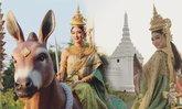 แพนเค้ก เขมนิจ งามอย่างไทย ในชุดนางมณฑาเทวี นางสงกรานต์ 2559