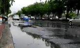 ถ.รัชดา-ลาดพร้าวฝนตกรถมาก-น้ำท่วมขัง