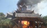 ระทึก!ไฟไหม้บ้านเรือนไทยชลบุรีวอดทั้งหลัง