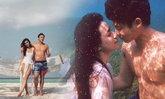 """ทะเลหวาน """"หมาก-คิม"""" ดื่มด่ำถ่ายแบบคู่สุดฟินเกาะมัลดีฟส์"""