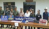 นรข.หนองคายจับ3หญิงลาวซุกยาเสื้อใน15,977เม็ด