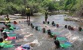 กู้ภัยพิษณุโลกเปิดสอนว่ายน้ำให้เด็กในพื้นที่ห่างไกล