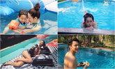 เปิดบ้านดารา ชีวิตดี๊ดี มีสระว่ายน้ำให้เล่นคลายร้อน