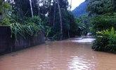 พัทลุงฝนหนักน้ำป่าหลากท่วมบ้านเรือนปชช.