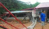 พายุพัดบ้านปปชช.ในจ.ชัยภูมิพังกว่า100หลัง