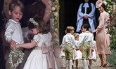 เจ้าชายจอร์จ-เจ้าหญิงชาร์ล็อตต์ ร่วมพิธีแต่งงานน้าสาว พิปพา มิดเดิลตัน