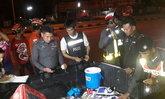 ตร.โคราชล่า2คนร้ายแหกด่านยิงสู้พบปืน-ยาเสพติด