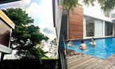 ส่องสระว่ายน้ำชิคๆ ของ เคน ธีระเดช กับลูกๆ ในบ้านหรูหลังงาม