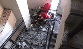 ระทึก! นักศึกษา ม.บูรพาหนีตายหลังเกิดไฟไหม้บนตึก