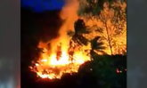 ไฟไหม้เกาะสมุย กินพื้นที่เฉียด 10 ไร่ คุมเพลิงวงจำกัด
