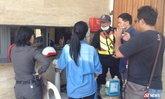 เด็ก ม.6 ถูกฉุดขึ้นรถระหว่างไปเรียน ขัดขืนโดนถีบตกถนนบาดเจ็บ
