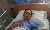 สมจิตรฟาดเคราะห์ผ่าตัดหมอนรองกระดูกหวิดเดินไม่ได้