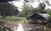 แม่ฮ่องสอนฝนหนักน้ำป่าหลากหมู่บ้านกะเหรี่ยง