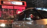รถนักข่าวนสพ.ข่าวสดชนกับรถเก๋งและรถเมล์4คันไร้เจ็บ
