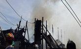 ไฟไหม้เพิงพักคนงานย่านกาญจนาฯวอดหมด