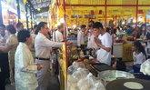 เปิดเทศกาลกินเจเมืองทองพบเมนูอาหารกว่า 999 เมนู