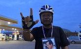ชายยะลาปั่นจักรยานวัน2จากจ.สงขลามุ่งกทม.