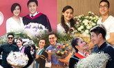 ส่องความนัย 5 คู่หวาน หอบดอกไม้ช่อโตยินดีงานรับปริญญา