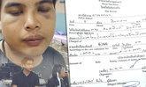 คู่กรณี น็อต อัครณัฐ มาจ่ายค่าปรับ 400 บาท ขี่ชนมินิฯ