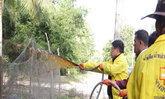 พัทลุง-นำน้ำหมักชีวภาพออกฉีดพ่นแก้น้ำเสีย