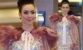 สุดอลังการ!! เปิดตัวเวที Mrs. Universe Thailand 2017  นาตาลี เกลโบว่า สวมชุดผ้าคลุมที่ยาวที่สุดในโลก