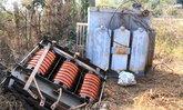 ชาวบ้านสุดทน! แก๊งโจรแสบ โจรกรรมหม้อแปลงไฟฟ้าแรงสูงขนาดใหญ่