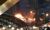เกิดไฟไหม้สายไฟ หน้าห้างยูเนี่ยนมอลล์ เจ้าหน้าที่ดำเนินการแล้ว