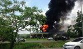 ไฟไหม้ปั๊มบนถ.304เขต อ.ปักธงชัย โคราช