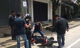 ผบ.ตร.ได้ใจชาวกระบี่ ช่วยสาวรถล้ม ขณะลุยคดีฆ่า 8 ศพ