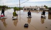 น้ำท่วมในมณฑลจี๋หลินของจีน แผ่นดินไหว 4.9 เขย่าซ้ำ