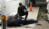 สลด! พนักงานขนเงินยิงตัวตาย คาปั๊มน้ำมันราชพฤกษ์