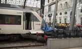 รถไฟไม่หยุด พุ่งชนทะลุสถานี เจ็บระนาวที่บาร์เซโลนา
