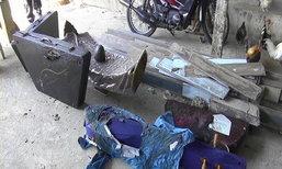 ไฟไหม้ศูนย์ซ่อมเครื่องดนตรีไทยเมืองจันทบุรี