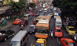 ถ.รัชดาฯ,กรุงเทพฯ-นนทบุรี,พิบูลสงครามรถติด