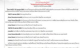 อุตุฯ เตือนฉ.4 พายุฤดูร้อนไทยตอนบน