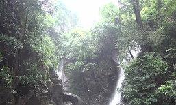 น้ำตกพลิ้วจันทบุรียังเปิดปกติแม้ฝนตกต่อเนื่อง