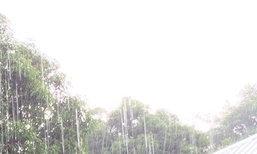 อุตุฯพยากรณ์เที่ยงวันไทยบางพื้นที่ฝนตกหนัก