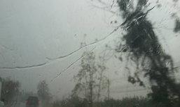 อุตุฯพยากรณ์เที่ยงวันทั่วไทยฝนตกร้อยละ40-60