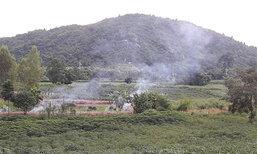จนท.ตรวจไร่-สวนชาวบ้านหลังถูกช้างป่าบุกทำลาย