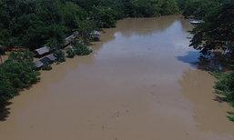 จ.เพชรบุรีเตือนพื้นที่ลุ่มใต้เขื่อนระวังน้ำหลาก