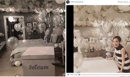 แฟนมิ้นท์ ณัฐวรา จัดเซอร์ไพรส์ถึงห้องนอน อย่างกับขอแต่งงาน