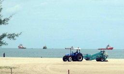 สงขลาปรับปรุงภูมิทัศน์พัฒนาชายหาดสมิหลา
