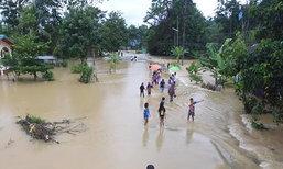 พัทลุงฝนตกหนักน้ำท่วมหลายจุด-ผู้ว่าฯถกด่วน
