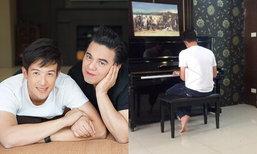 เพราะมาก เจมส์ มาร์ เล่นเปียโนที่บ้านพี่เอ ศุภชัย