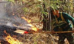 เกิดไฟไหม้ป่าที่ลำปางต่อเนื่องแม้จนท.ขอความร่วมมือ