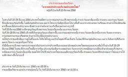 อุตุฯ เตือนประเทศไทยอากาศแปรปรวน ฉ.2